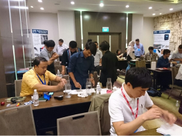 Pi holds Distributor Training in Singapore