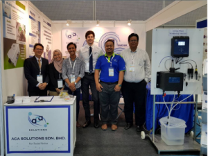 Julius with Malaysian Distributors ACA Solutions