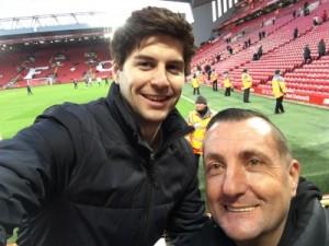Julius & Craig at Anfield